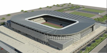 Irak Al-Sadr City Stadium (30,000 Seats)